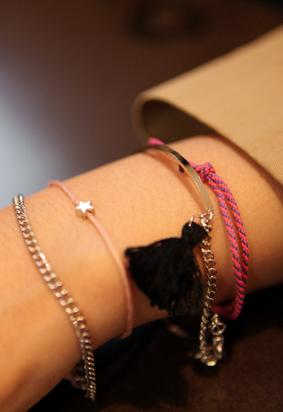 Pink Chain Set B