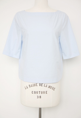 summer sale 62 - boat-neck blouse