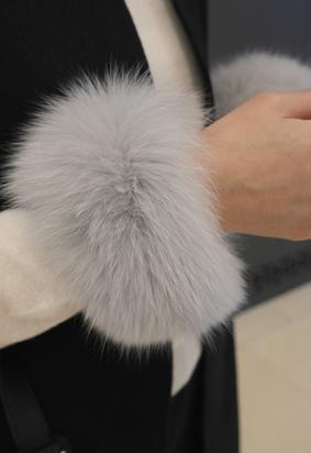 Real fox fur B (2color)