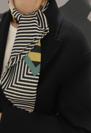 Diameter geuneol scarf (yellow)