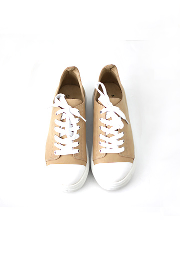 Leather sneakers (3color)