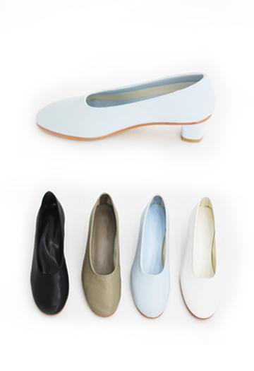 Cover kitten heels (4color)