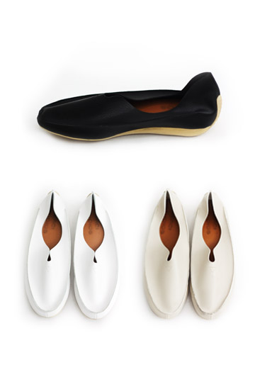 Soft rubber shoes (3color)
