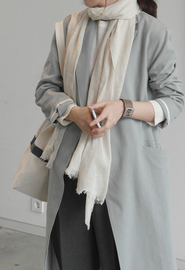 Natural cotton scarf (7color)
