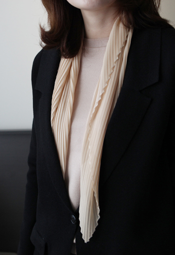 Middleton pleated scarf (5color)