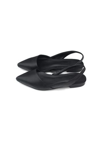 Pointed toe slingbacks (2color)