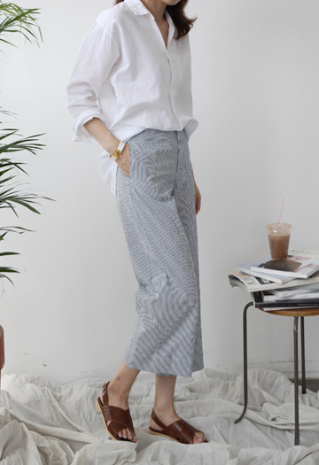 Ripple Striped Pants (2color)
