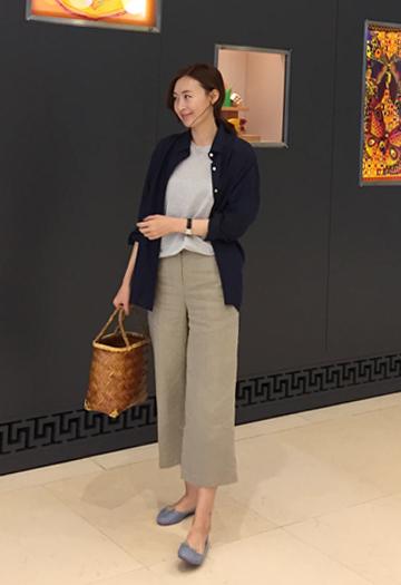 Pei linen shirt (3color)