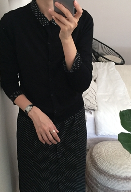 Spun cardigan (5color)