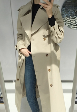 Build trench coat (2color)