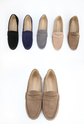 Penny Suede Shoes (5color)