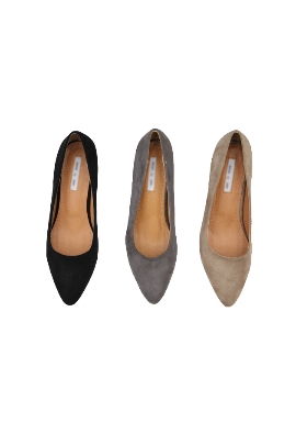 Pointed toe middle (3color)