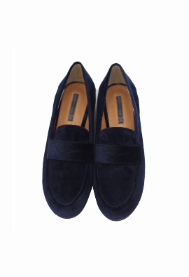 Velvety loafer (2color)
