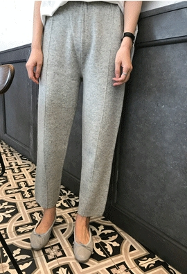 Safe knit pants (3color)