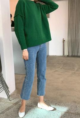 [Cashmere] Attune knit (4color)