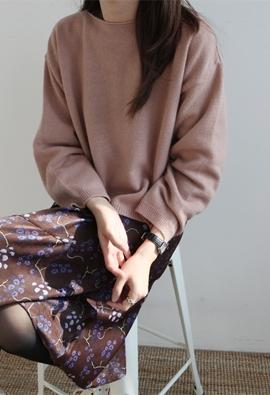 [Cashmere] Emma knit (4color)