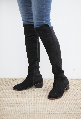 Tension boots (suede)