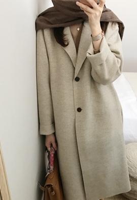 Fail herringbone coat (beige)