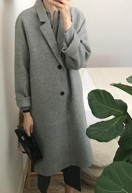 Fail herringbone coat (gray)