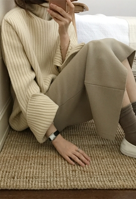 Allure knit (4color)