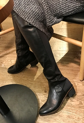 Tension boots (leather)