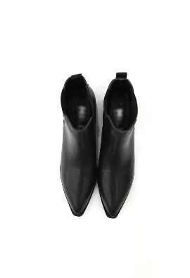 Pointed toe ankle boots (3color)