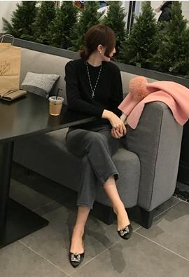[Cashmere] Given knit (3color)