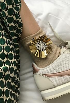 Jewel shine socks (4color)