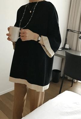 Tweed button cardigan