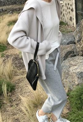 [100% wool] Hooded Cardigan (3color)