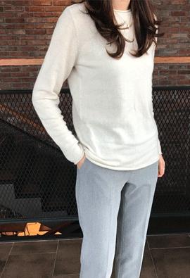 Apple knit (3color)