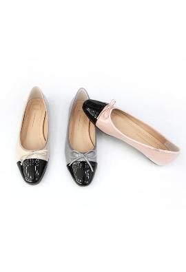 Black toe flat (3color)