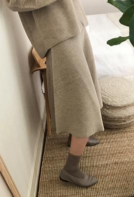 [Holger Treatment] Abiding skirts (3color)