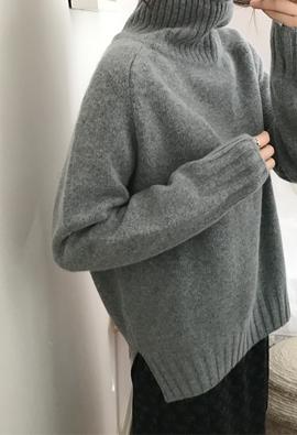 [Cashmere] Seven turtleneck (2color)