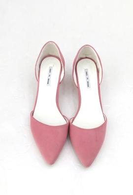 Pointed Kitten Heel (3color)
