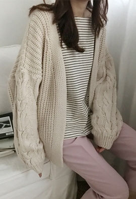 Twisted cardigan (5color)