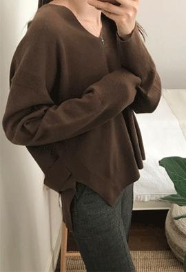 Droop knit (4color)