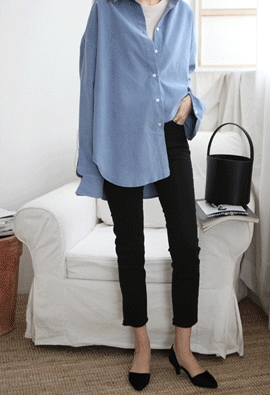 Corduroy Shirt (3color)