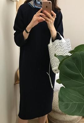 - 100% wool - Stuff wool dress (3color)