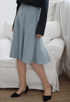 [Back band] downwind skirt (2color)