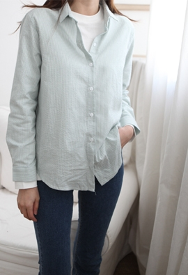 Grab striped shirt (3color)
