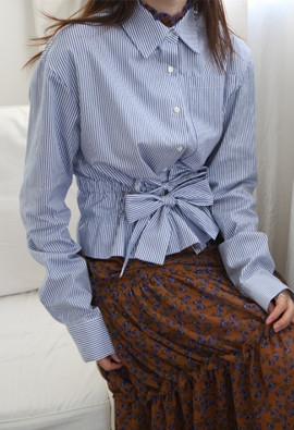 Double string blouse (3color)