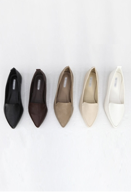 Pointy shoes (5color)