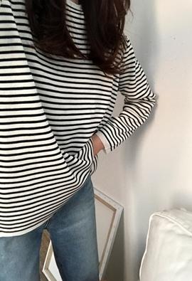 Tad stripe knit (3color)