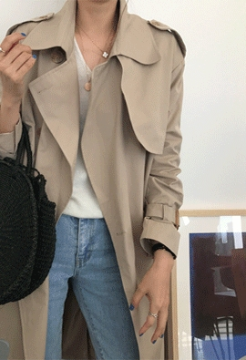 Wish trench coat (2color)