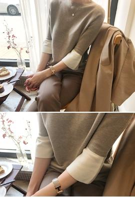 [Wholegarment] Await knit (4color)
