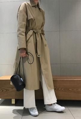 Integer trench coat
