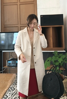 Third long jacket (2color)
