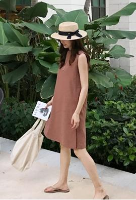 Plainly dress (3color)