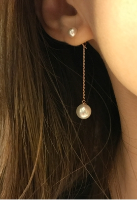 [Real] pearl chains Pearl E